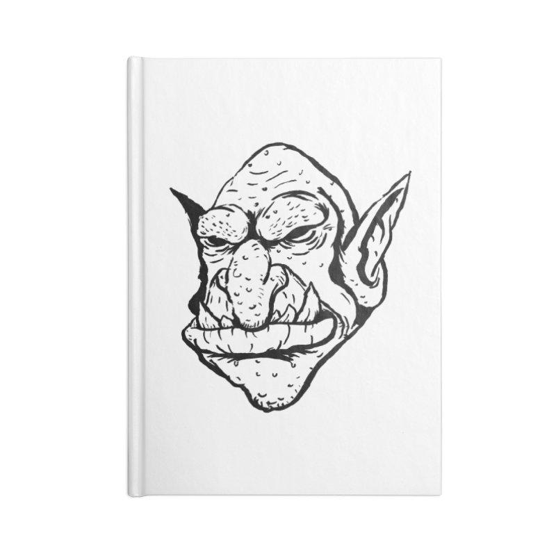 Goblin Accessories Notebook by tjjudgeillustration's Artist Shop