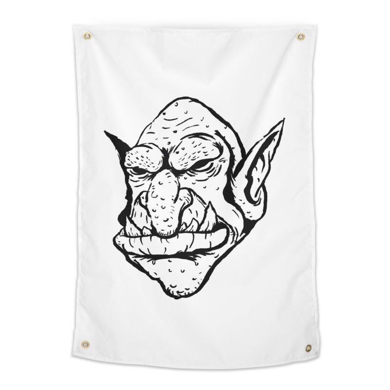 Goblin Home Tapestry by tjjudgeillustration's Artist Shop