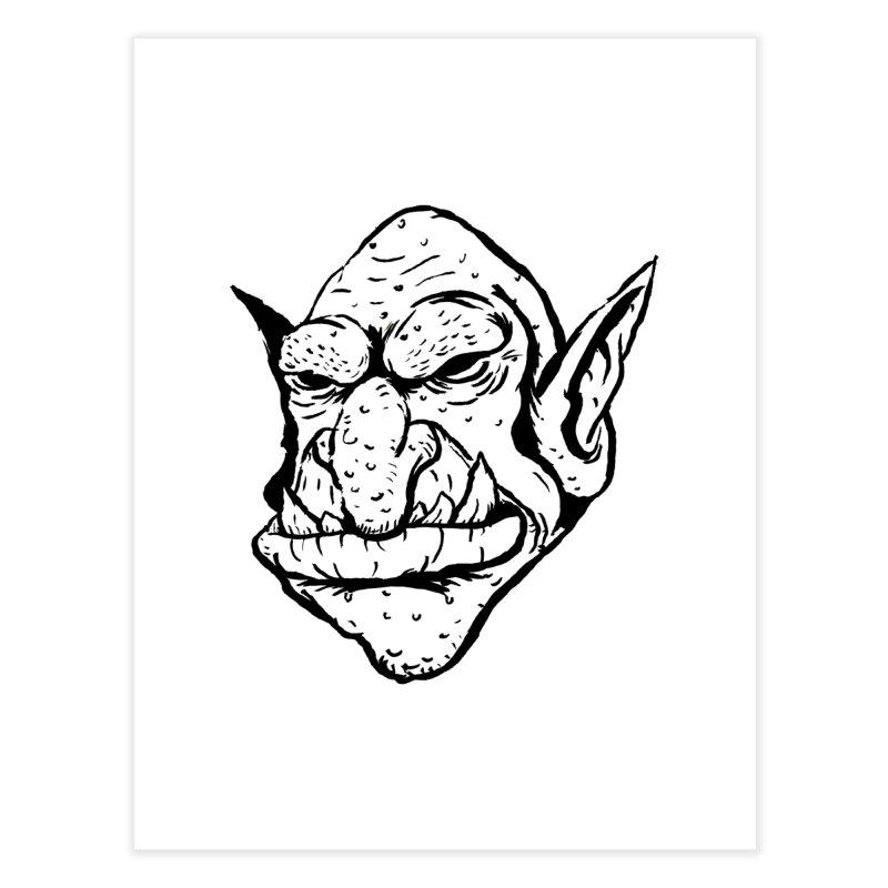 Goblin Home Fine Art Print by tjjudgeillustration's Artist Shop
