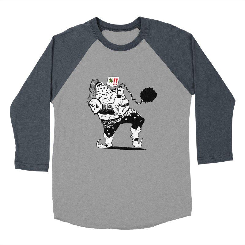 Warrior #!! Men's Baseball Triblend Longsleeve T-Shirt by tjjudgeillustration's Artist Shop