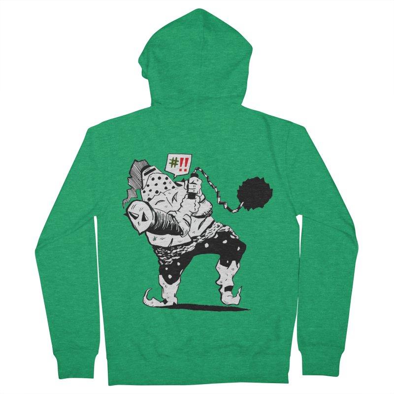 Warrior #!! Men's Zip-Up Hoody by tjjudgeillustration's Artist Shop