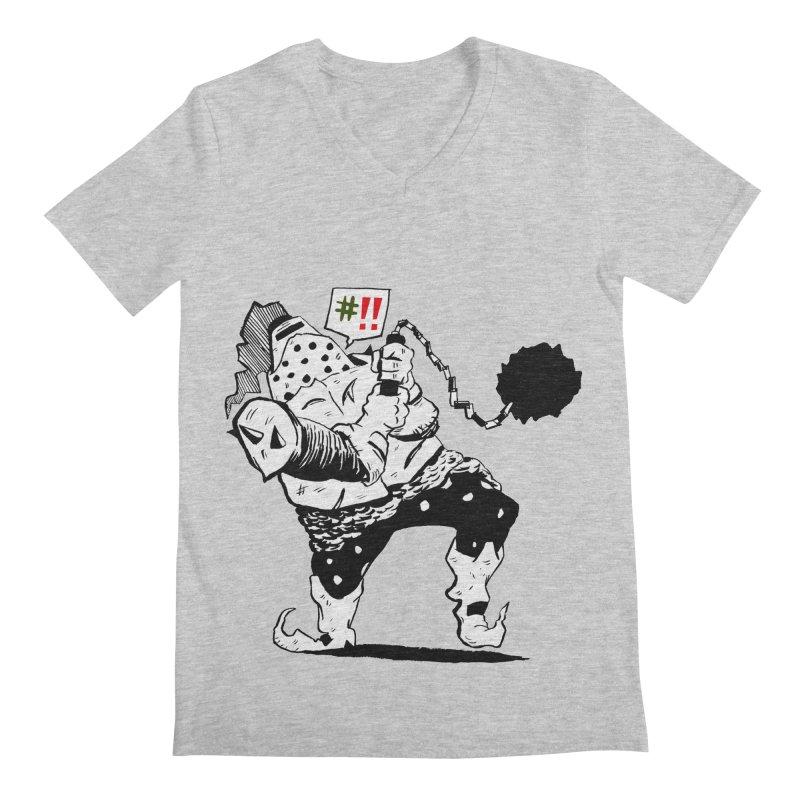 Warrior #!! Men's V-Neck by tjjudgeillustration's Artist Shop
