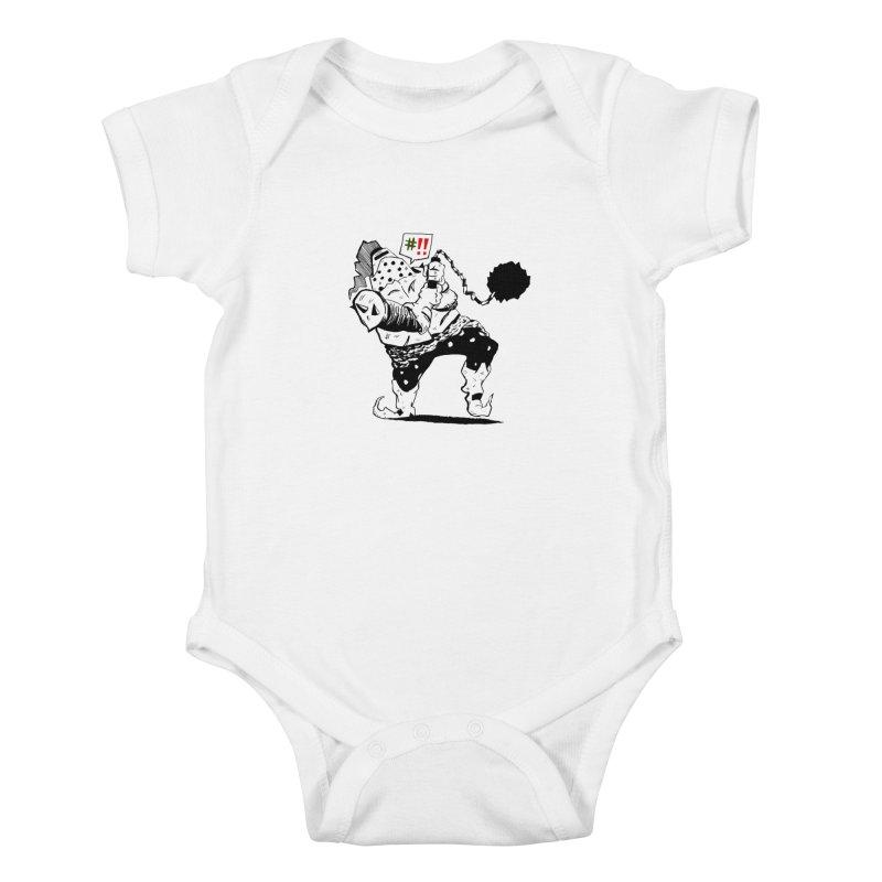 Warrior #!! Kids Baby Bodysuit by tjjudgeillustration's Artist Shop