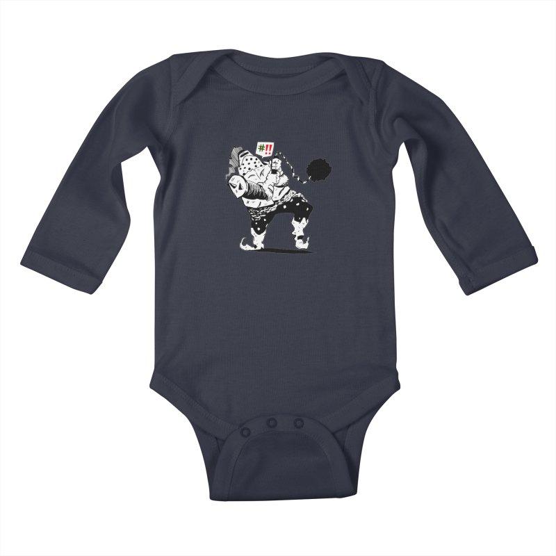 Warrior #!! Kids Baby Longsleeve Bodysuit by tjjudgeillustration's Artist Shop