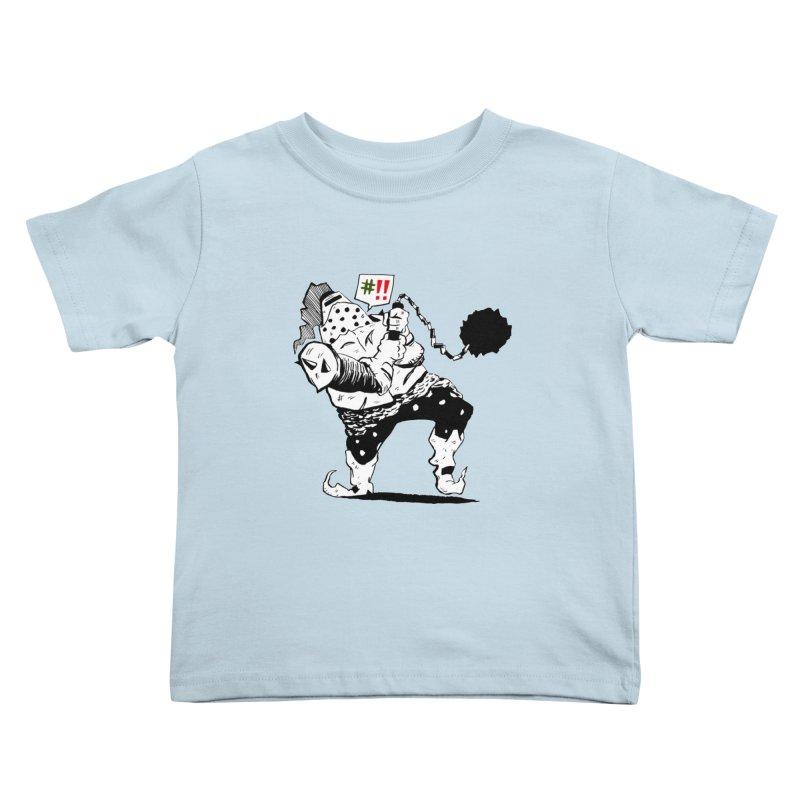 Warrior #!! Kids Toddler T-Shirt by tjjudgeillustration's Artist Shop