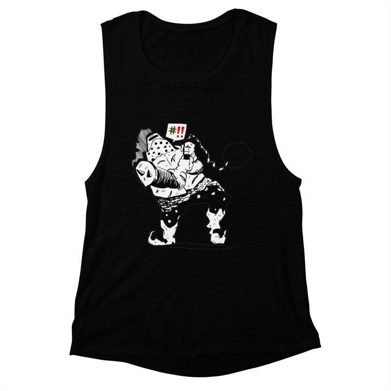 Warrior #!! Women's Muscle Tank by tjjudgeillustration's Artist Shop