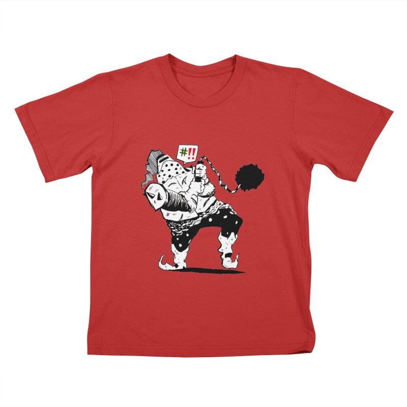 Warrior #!! Kids T-Shirt by tjjudgeillustration's Artist Shop