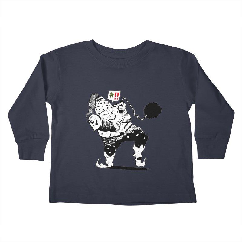 Warrior #!! Kids Toddler Longsleeve T-Shirt by tjjudgeillustration's Artist Shop