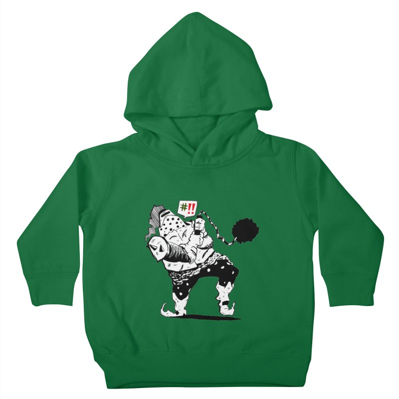 Warrior #!! Kids Toddler Pullover Hoody by tjjudgeillustration's Artist Shop