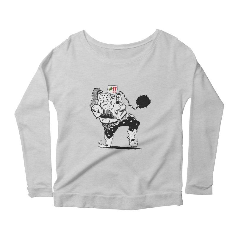 Warrior #!! Women's Scoop Neck Longsleeve T-Shirt by tjjudgeillustration's Artist Shop