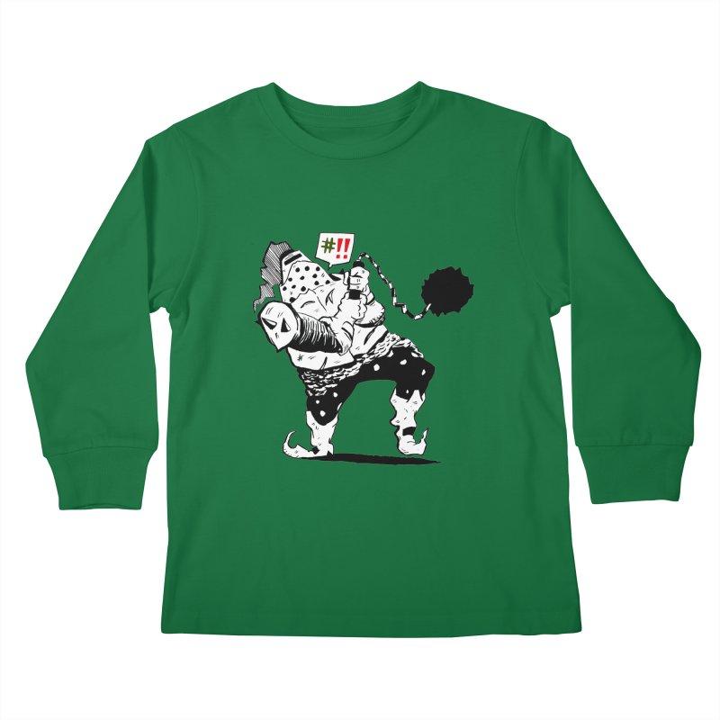 Warrior #!! Kids Longsleeve T-Shirt by tjjudgeillustration's Artist Shop