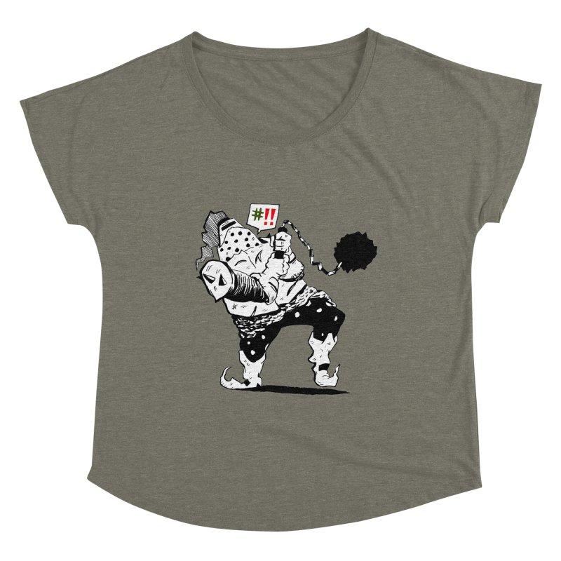 Warrior #!! Women's Scoop Neck by tjjudgeillustration's Artist Shop