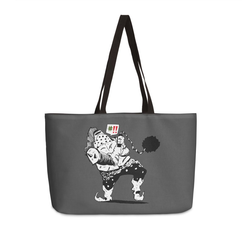 Warrior #!! Accessories Bag by tjjudgeillustration's Artist Shop