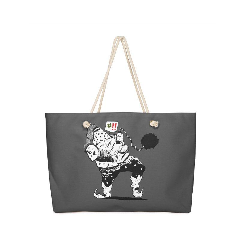 Warrior #!! Accessories Bag by tjjudgeillustration's Artist Shop
