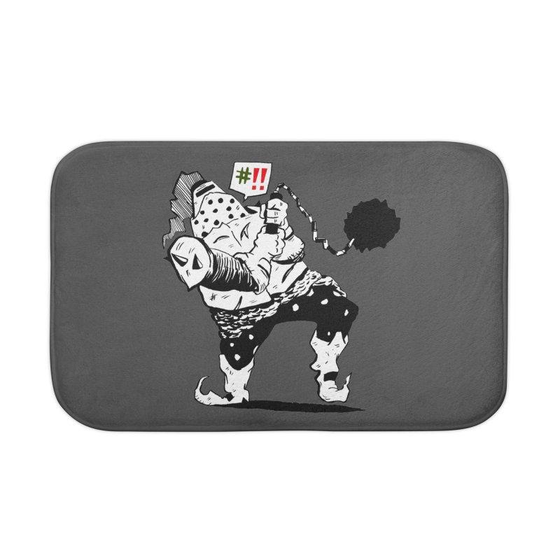 Warrior #!! Home Bath Mat by tjjudgeillustration's Artist Shop