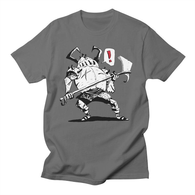 Warrior ! Men's T-Shirt by tjjudgeillustration's Artist Shop
