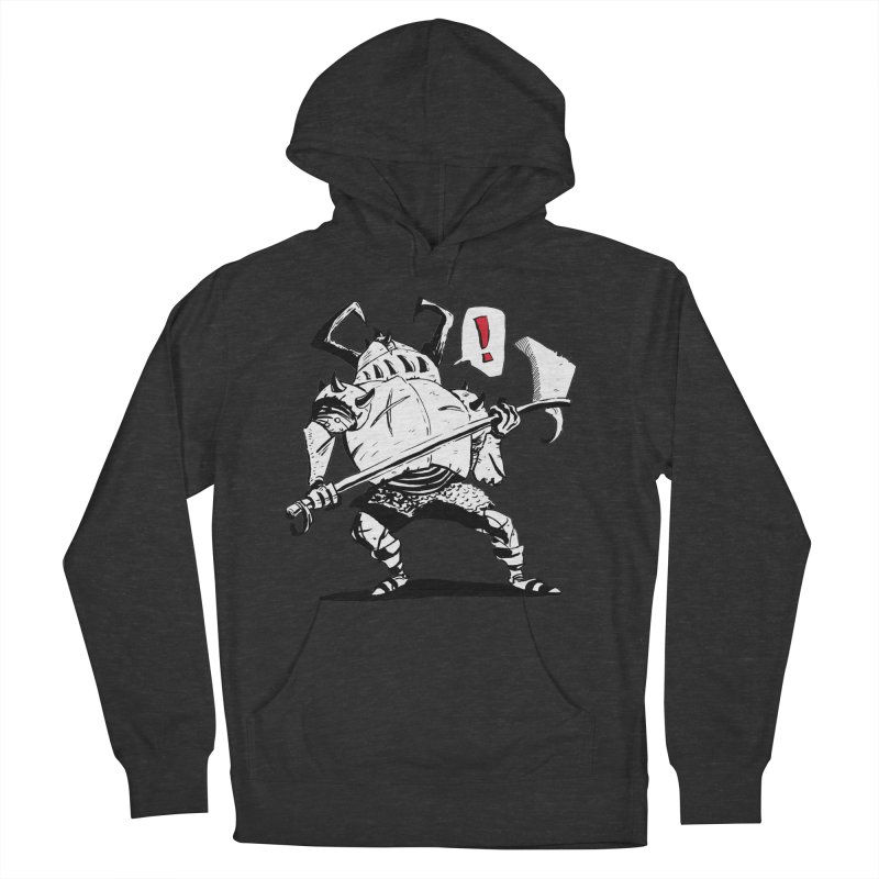 Warrior ! Women's French Terry Pullover Hoody by tjjudgeillustration's Artist Shop