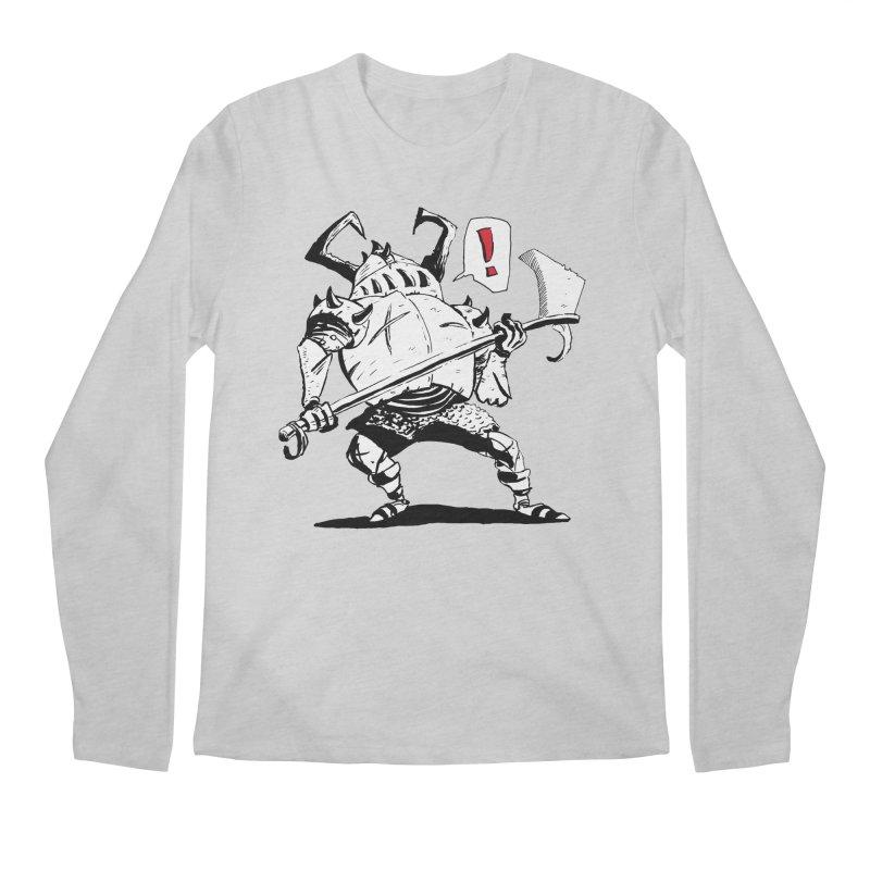 Warrior ! Men's Longsleeve T-Shirt by tjjudgeillustration's Artist Shop