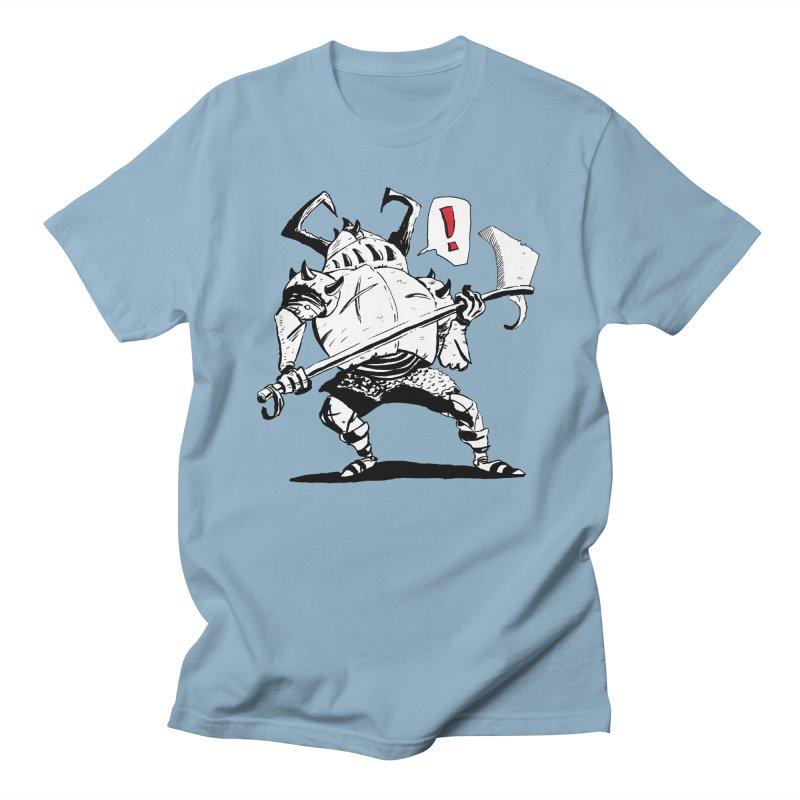 Warrior ! Women's Regular Unisex T-Shirt by tjjudgeillustration's Artist Shop