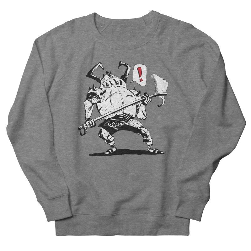Warrior ! Women's French Terry Sweatshirt by tjjudgeillustration's Artist Shop