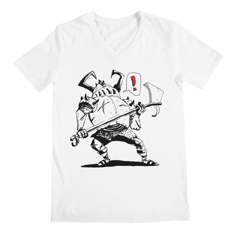 Warrior ! Men's V-Neck by tjjudgeillustration's Artist Shop