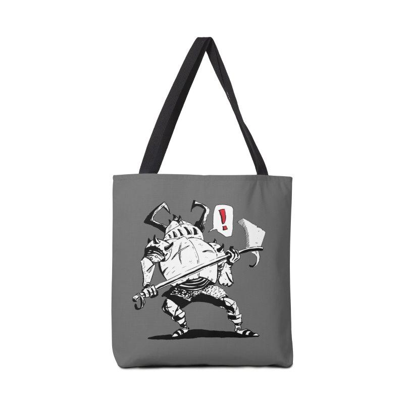 Warrior ! Accessories Bag by tjjudgeillustration's Artist Shop