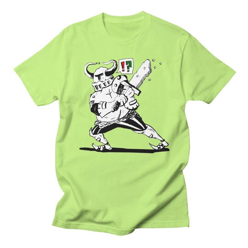 Warrior !? Men's T-Shirt by tjjudgeillustration's Artist Shop