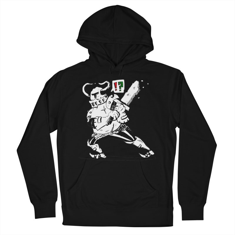 Warrior !? Women's French Terry Pullover Hoody by tjjudgeillustration's Artist Shop