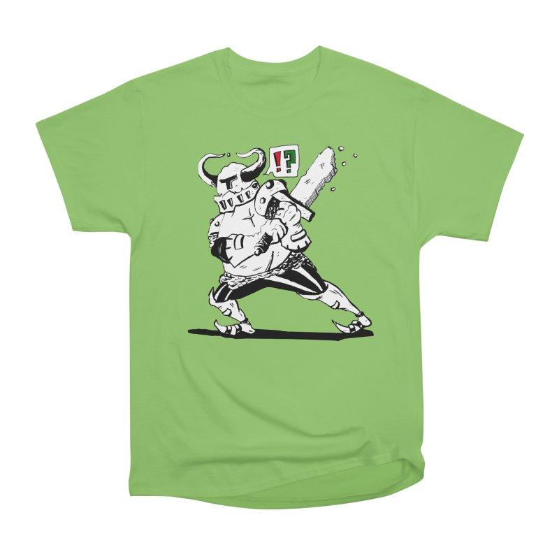 Warrior !? Men's Heavyweight T-Shirt by tjjudgeillustration's Artist Shop