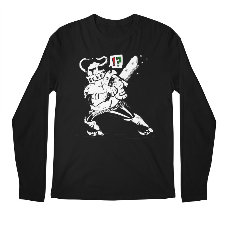 Warrior !? Men's Longsleeve T-Shirt by tjjudgeillustration's Artist Shop