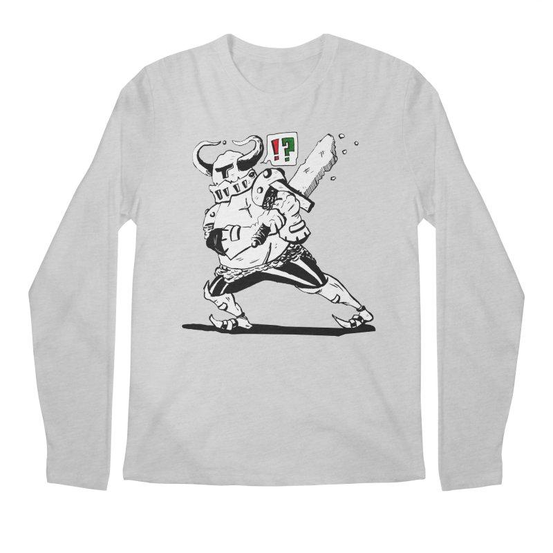 Warrior !? Men's Longsleeve T-Shirt by tjjudgeillustration's Artist Shop