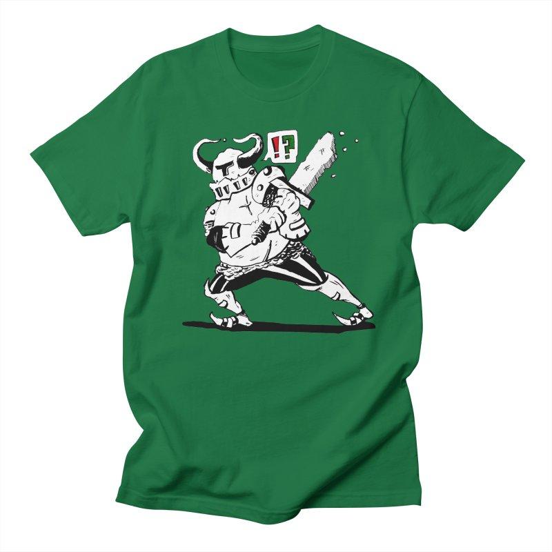 Warrior !? Men's Regular T-Shirt by tjjudgeillustration's Artist Shop