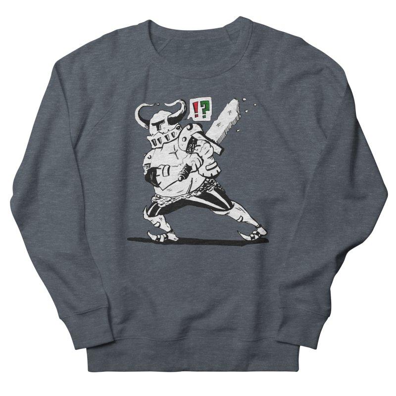 Warrior !? Women's French Terry Sweatshirt by tjjudgeillustration's Artist Shop