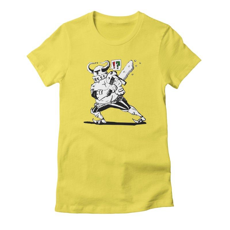 Warrior !? Women's T-Shirt by tjjudgeillustration's Artist Shop