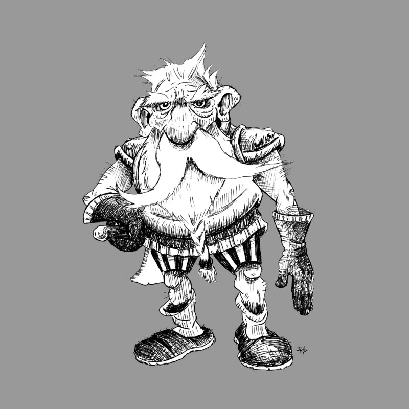 Dwarf Women's V-Neck by tjjudgeillustration's Artist Shop
