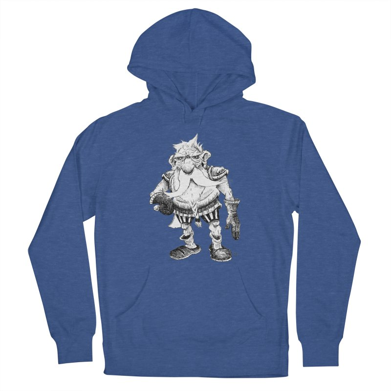 Dwarf Women's French Terry Pullover Hoody by tjjudgeillustration's Artist Shop