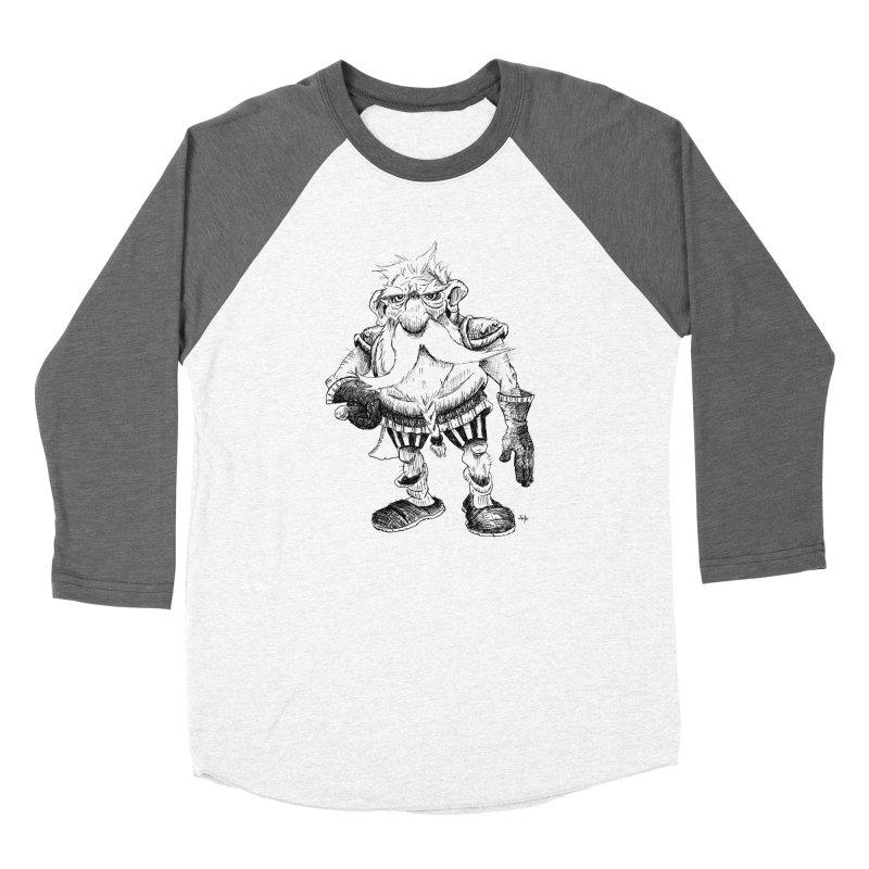 Dwarf Men's Baseball Triblend Longsleeve T-Shirt by tjjudgeillustration's Artist Shop