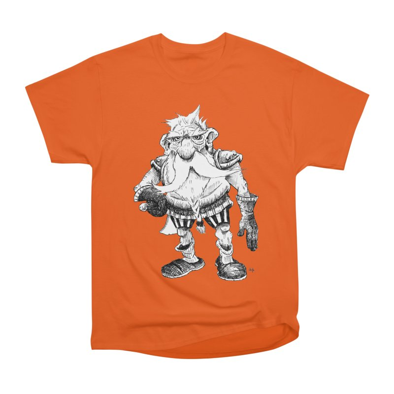 Dwarf Women's Heavyweight Unisex T-Shirt by tjjudgeillustration's Artist Shop