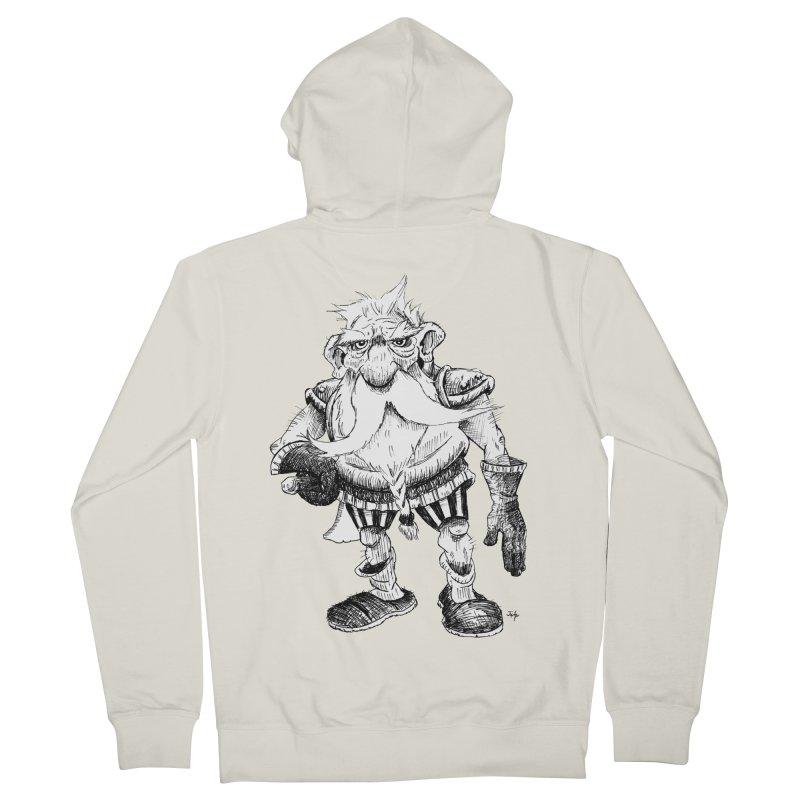 Dwarf Men's Zip-Up Hoody by tjjudgeillustration's Artist Shop