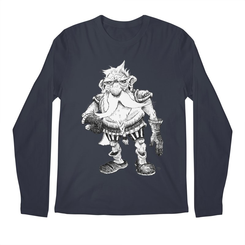 Dwarf Men's Longsleeve T-Shirt by tjjudgeillustration's Artist Shop