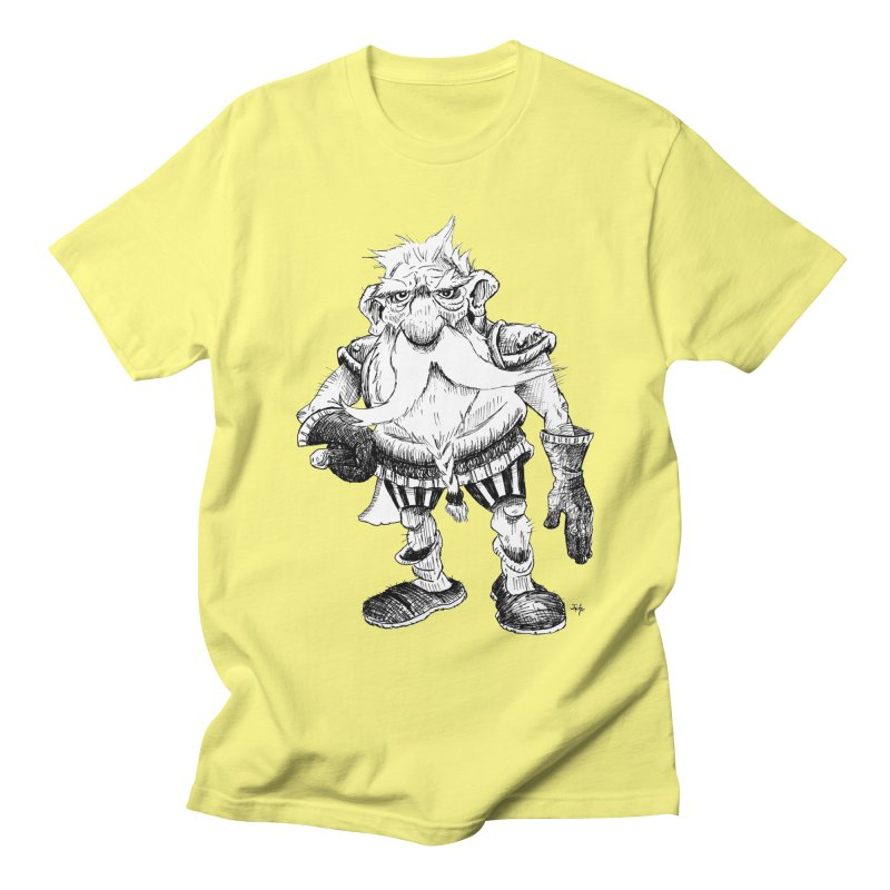 Dwarf Women's Regular Unisex T-Shirt by tjjudgeillustration's Artist Shop