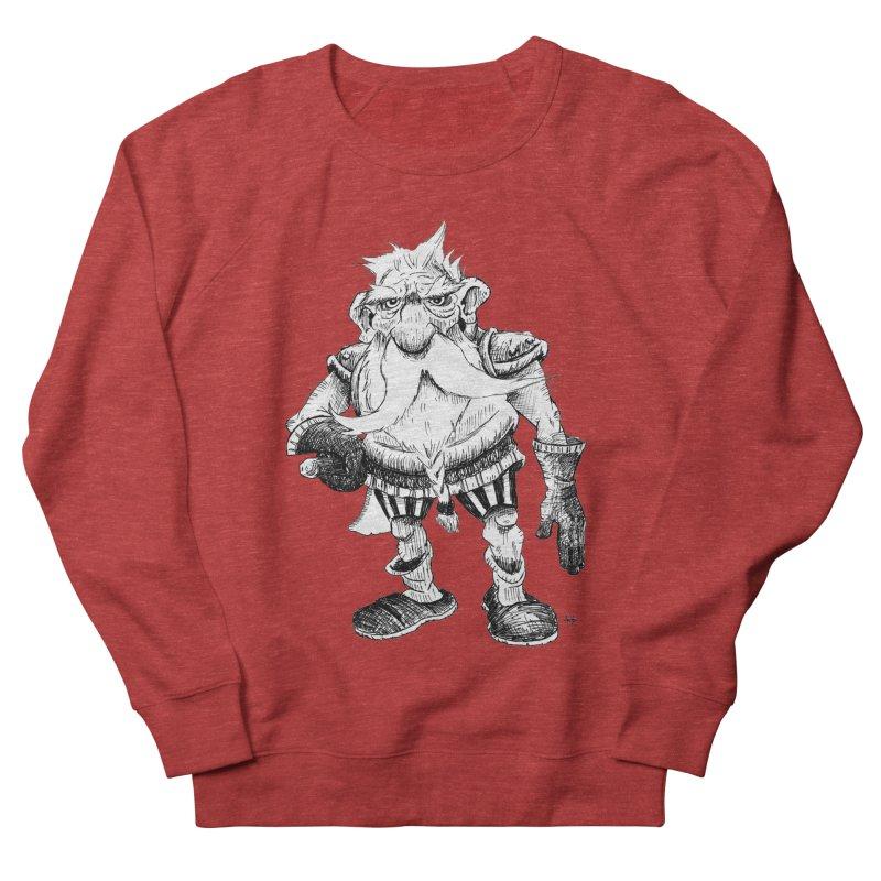 Dwarf Men's French Terry Sweatshirt by tjjudgeillustration's Artist Shop
