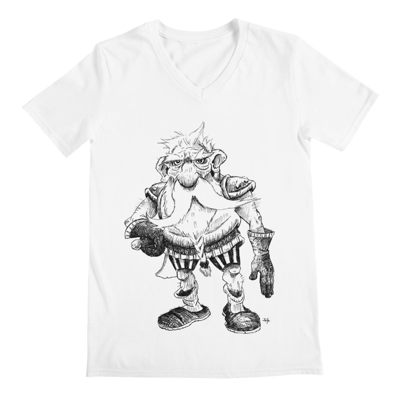 Dwarf Men's V-Neck by tjjudgeillustration's Artist Shop