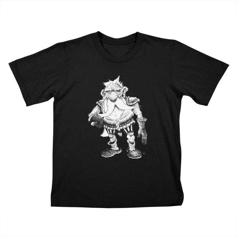 Dwarf Kids T-Shirt by tjjudgeillustration's Artist Shop