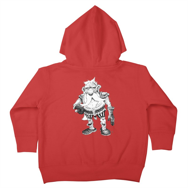 Dwarf Kids Toddler Zip-Up Hoody by tjjudgeillustration's Artist Shop