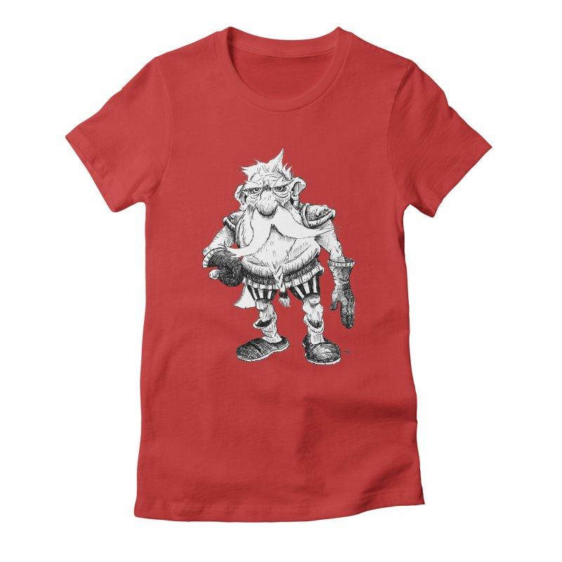 Dwarf Women's Fitted T-Shirt by tjjudgeillustration's Artist Shop