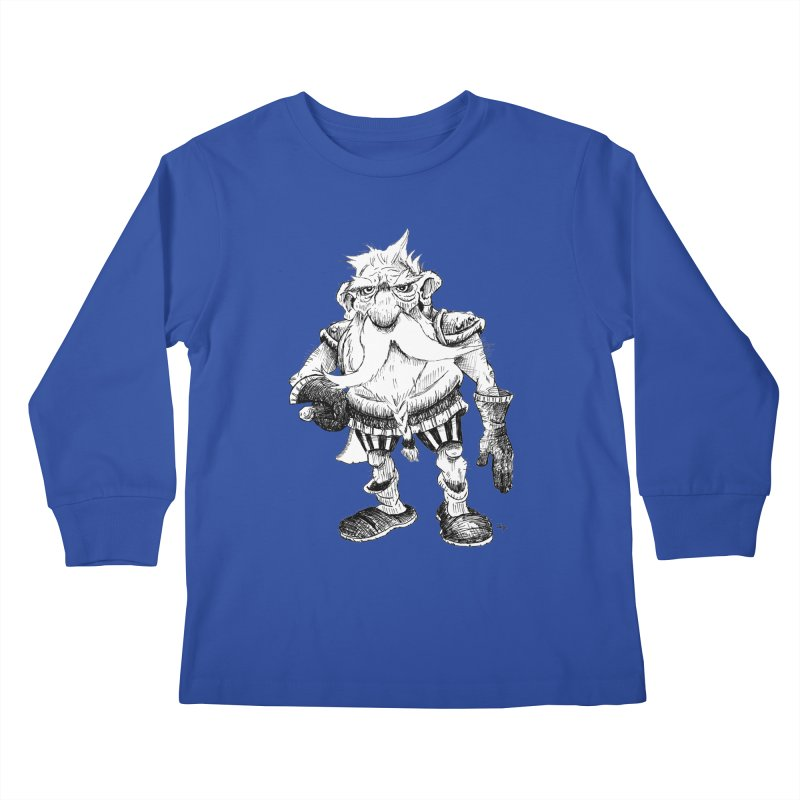 Dwarf Kids Longsleeve T-Shirt by tjjudgeillustration's Artist Shop