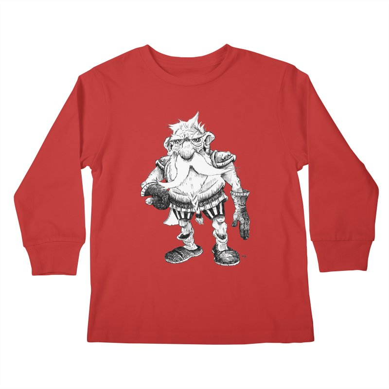 Dwarf Kids Longsleeve T-Shirt by tjjudgeillustration's Artist Shop