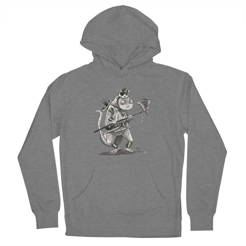 Lizard Warrior Women's Pullover Hoody by tjjudgeillustration's Artist Shop
