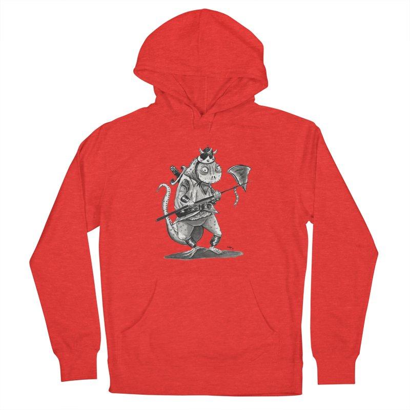Lizard Warrior Women's Pullover Hoody by tjjudgeillustration's Artist Shop